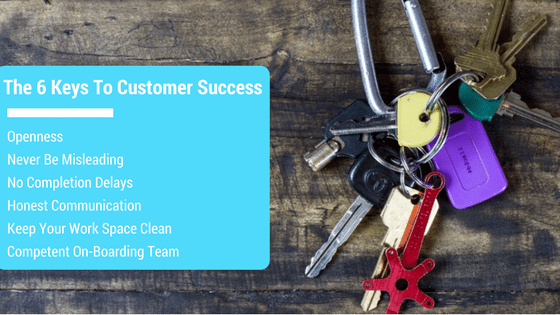 The 6 Keys To Customer Success