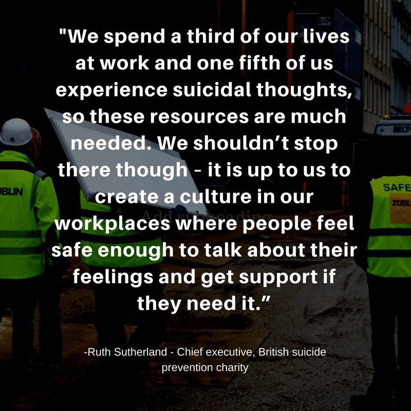 Mental health in construction - Quote 3